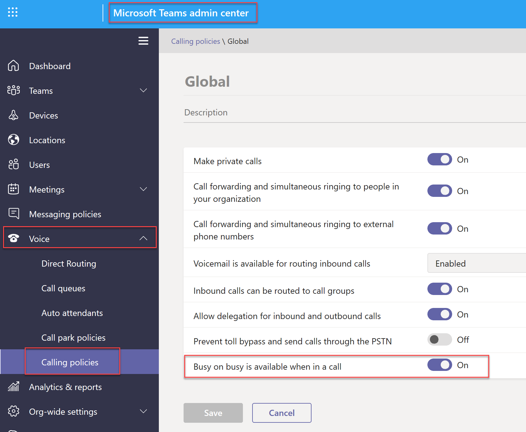 Microsoft teams calling features - Tech Success