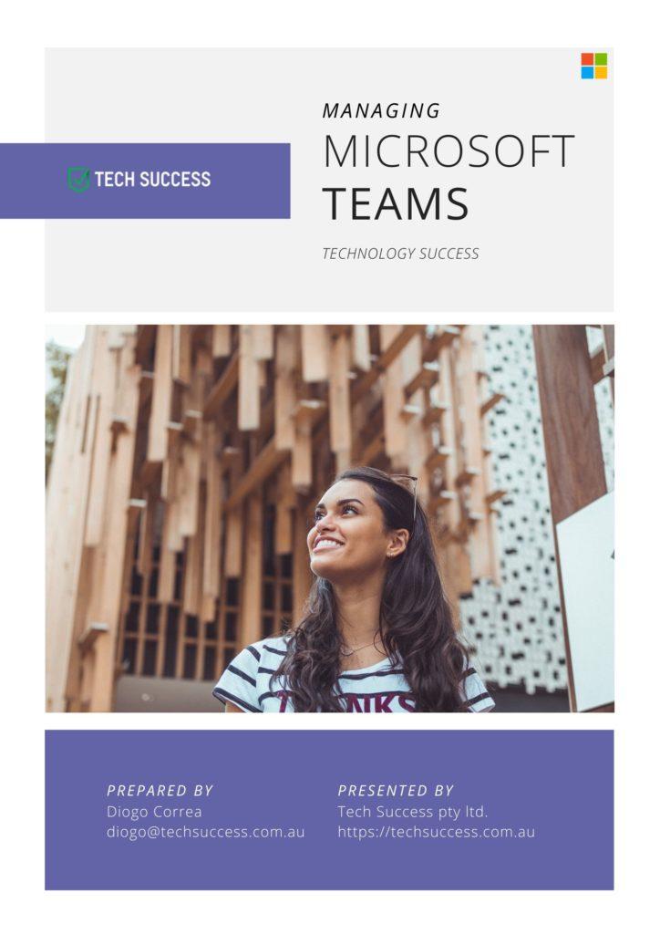 Microsoft Teams eBook Front Page