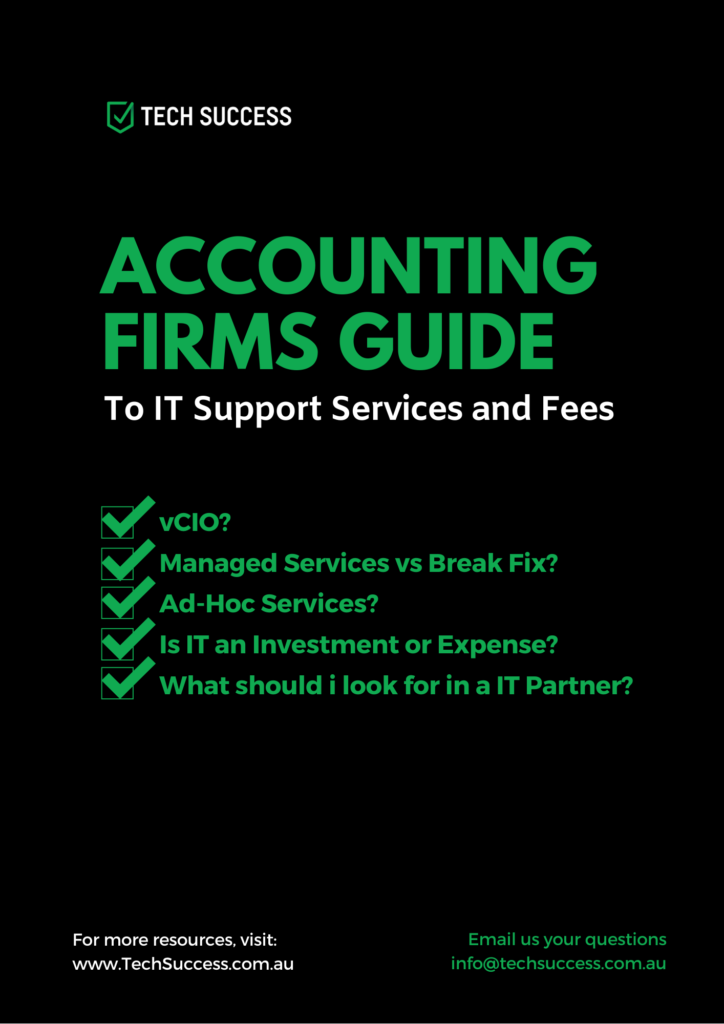 Accounting Firm Guide To IT Services