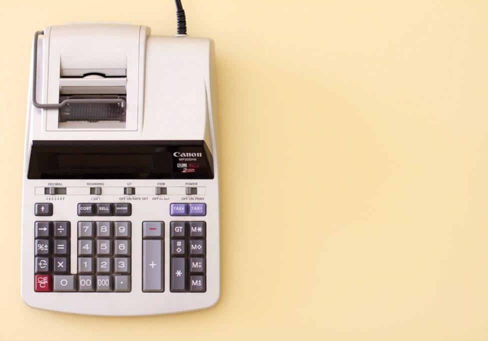 accounting pillars analogue calculator - Tech Success